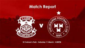 Cobh Ramblers 1-1 Shelbourne : REPORT
