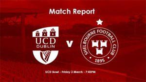 UCD 4-0 Shelbourne : RESULT