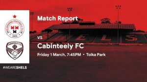 Shelbourne 2-3 Cabinteely : RESULT