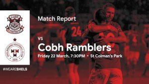 Cobh Ramblers 2-1 Shelbourne : REPORT