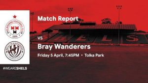 Shelbourne 1-0 Bray Wanderers : RESULT