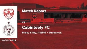 Cabinteely FC 1-0 Shelbourne FC : REPORT