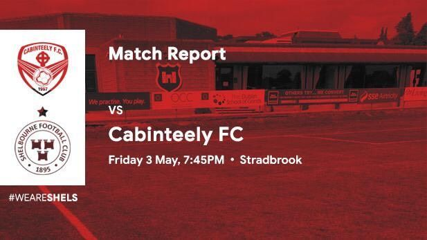 Graphics showing Shelbourne Football Club AND Cabinteely FC