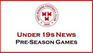 Under 19s Pre-Season Games