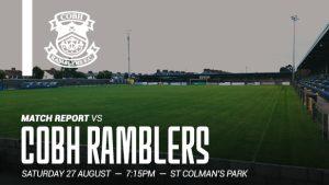 Cobh Ramblers 0-0 Shelbourne : REPORT