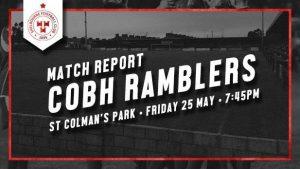 Cobh Ramblers 0-3 Shelbourne : REPORT