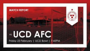 UCD 2-1 Shelbourne  : REPORT