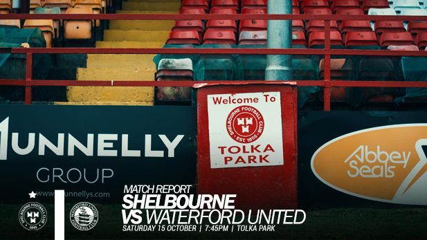 A graphic image of Match Report of Waterford FC Vs Shelbourne FC.