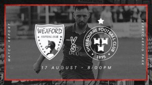 Wexford FC 1-2 Shelbourne : REPORT