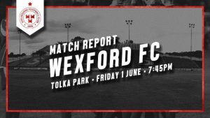 Shelbourne 4-1 Wexford FC : REPORT