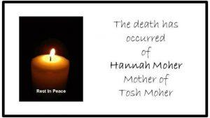 Death of Hannah Moher