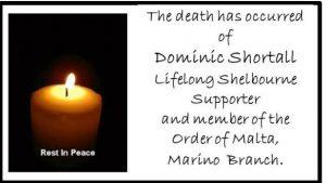 Dominic Shortall RIP
