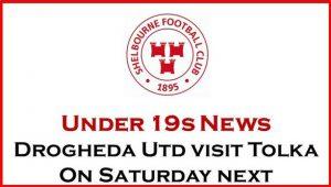 U19s v Drogheda United