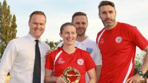 A good interview with Shels Ladies Seana Cooke by Aaron Clarke