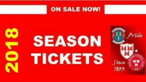 2018 Season Tickets on sale now
