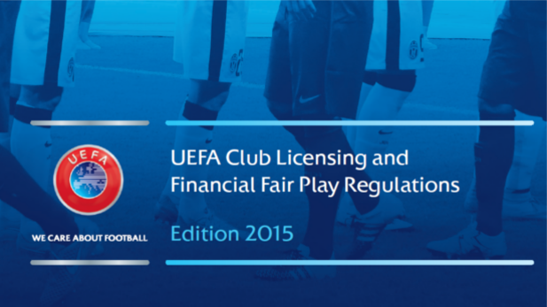 A graphic of UEFA club licensing and financial fair play regulation.