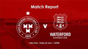 Shelbourne 1-1 Waterford : RESULT
