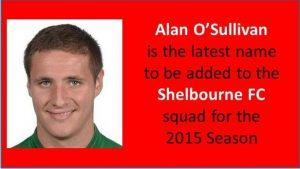 Alan O'Sullivan Re-Signs