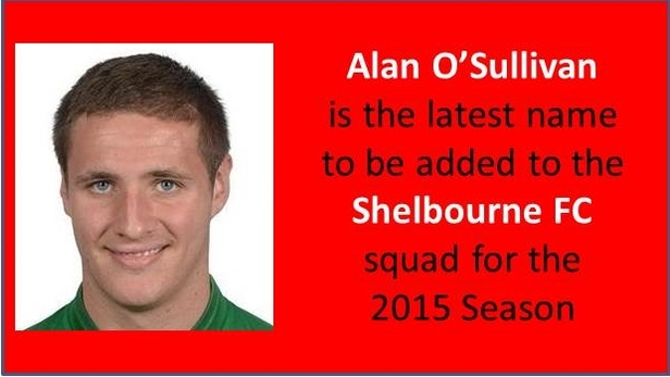 An image of Allen O Sullivan who resigned for the club.