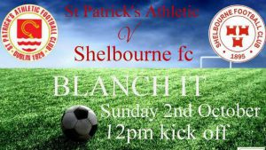 Shels U17s away to Pats on Sunday