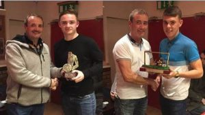 Shelbourne Under 19s Players of the Year Awards