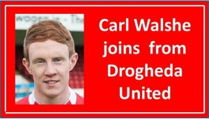 Carl Walshe Re-Signs From Drogheda