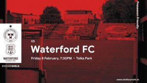 Shelbourne 0-3 Waterford : Pre-season Match Result