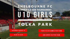 Shelbourne U10 girls summer tournament