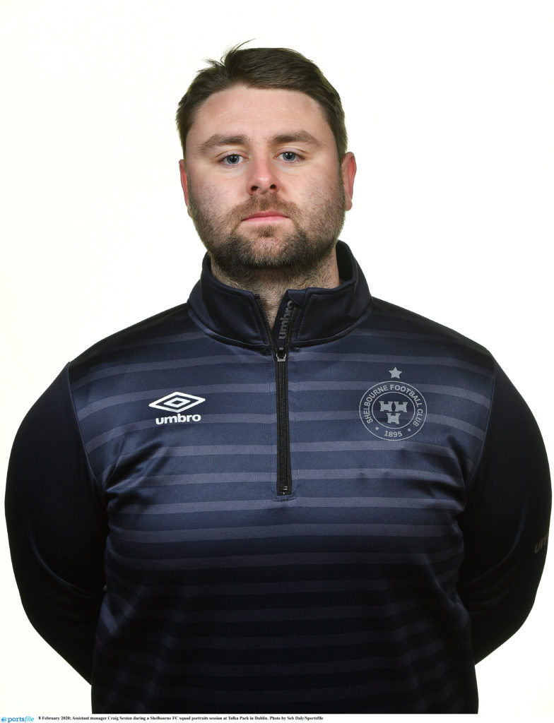 Profile image of Craig Sexton Shelbourne womens assistant manager