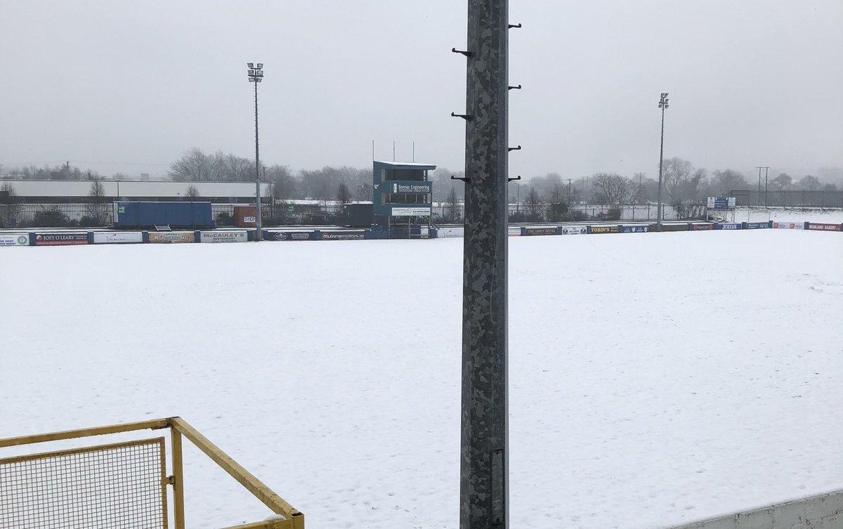 Shels game at Finn Harps postponed