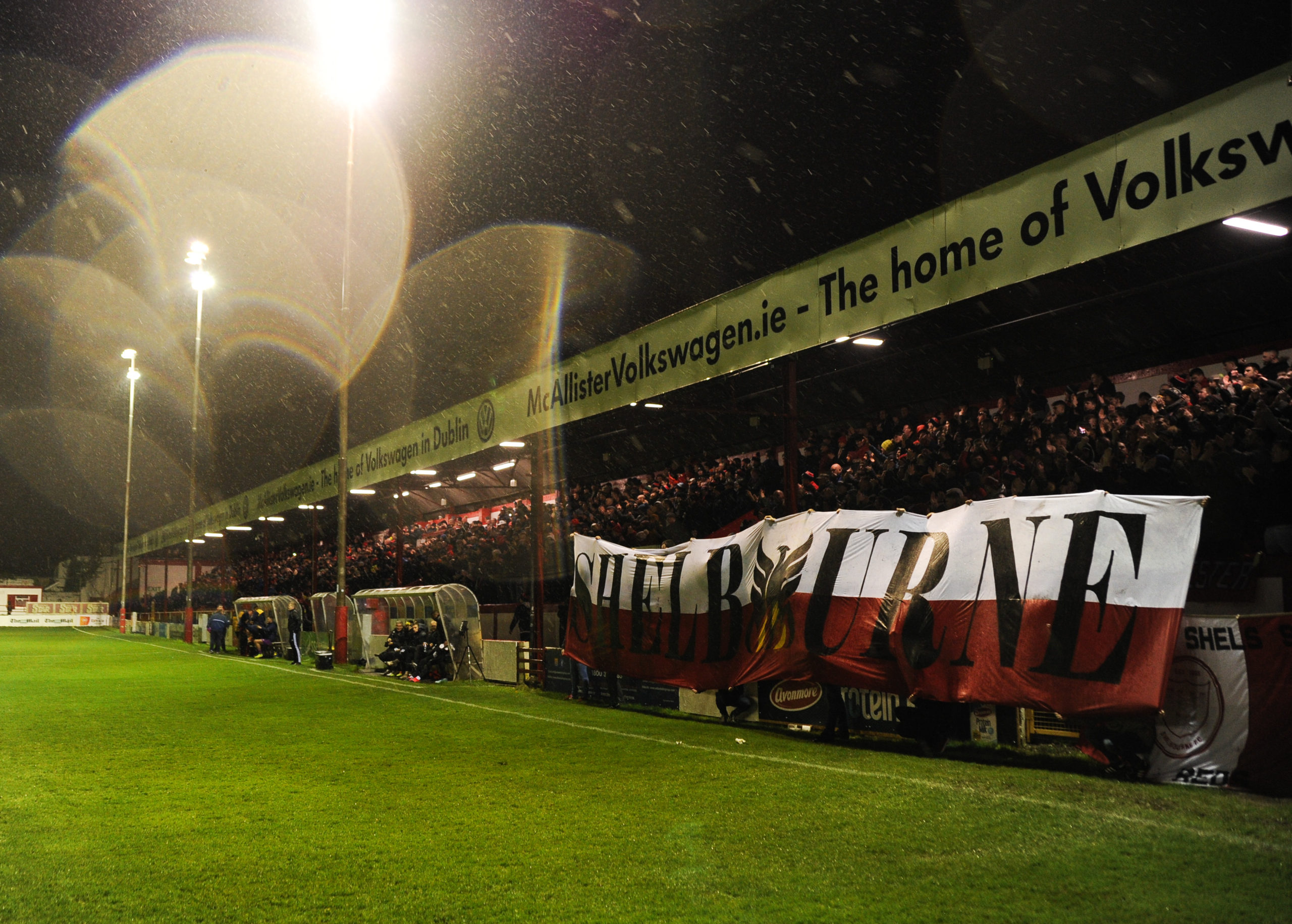 """Shels looking to """"reward the fans"""" at Harps"""