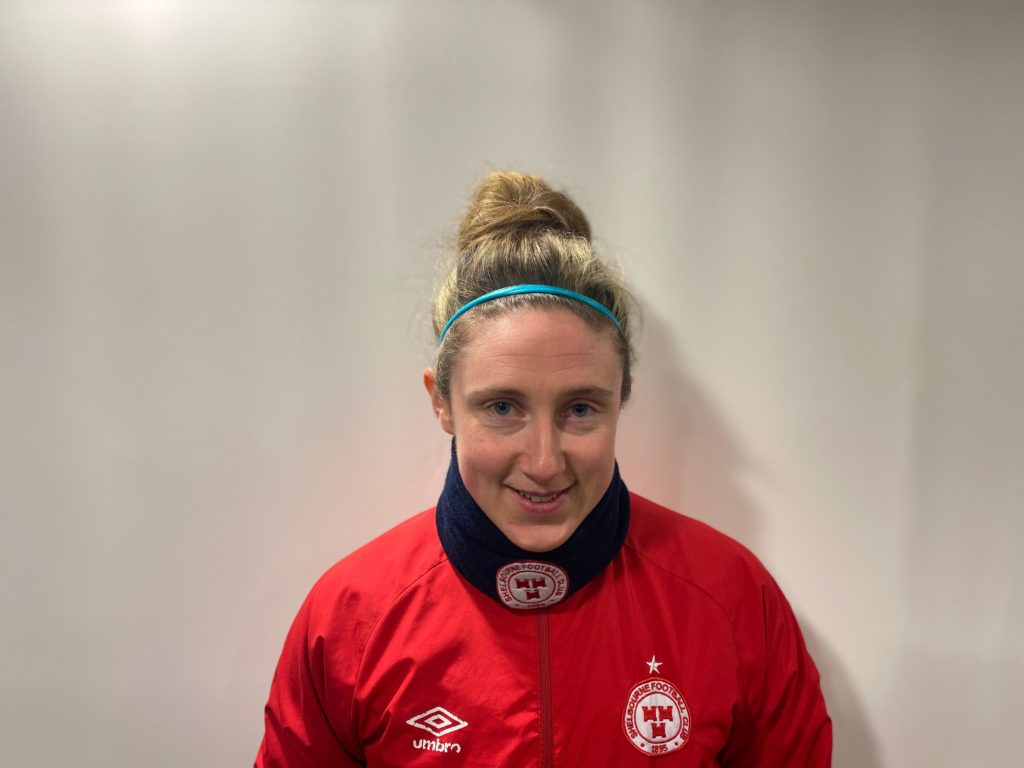 Profile image of Jessica Gleeson Shelbourne womens defender