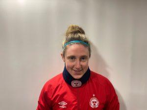 Profile image of Jessica Gleeson Shelbourne womens defender