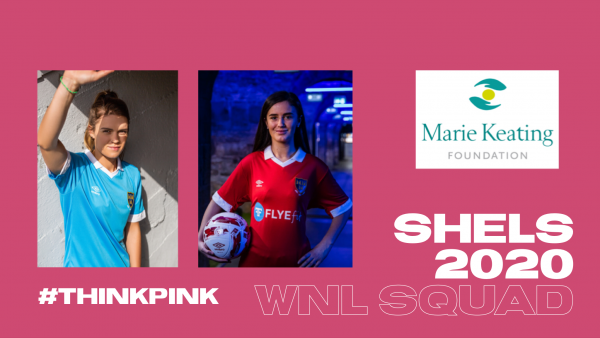 Shels team up with The Marie Keating Foundation for 2020 Squad announcement