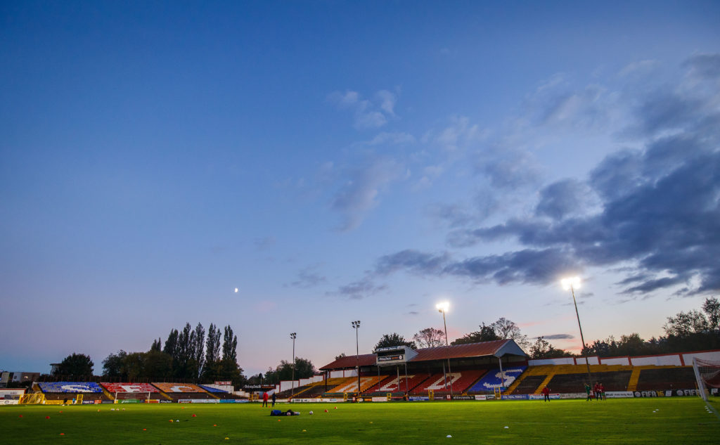 Tolka Park stadium, where shelbourne FC plays it's matches