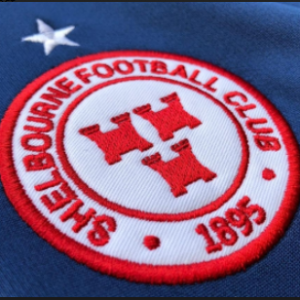 close-up of Shels club crest