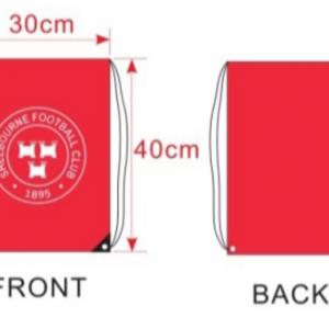 Shels rucksack with measurements
