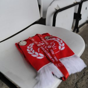 Shelbourne FC 125th Anniversary Fan Pack including club merchandise.