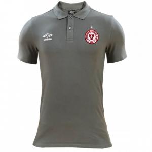 grey shels polo tshirt