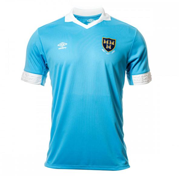 Shels Blue away jersey 2020