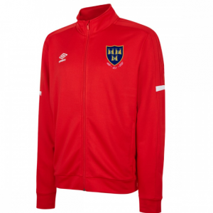 Red Shels jacket with 125th Anniversary crest