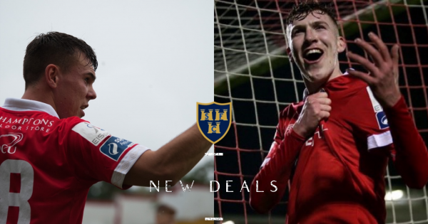 Shels stars Quinn and Rooney both sign new deals