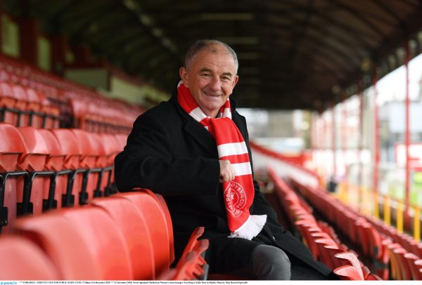 Shels appoint Noel King as WNL manager