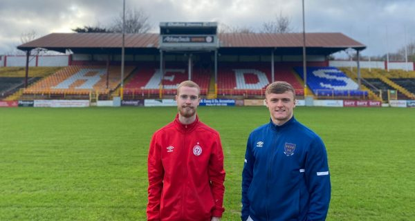 Shels sign duo Lunney and McAuley