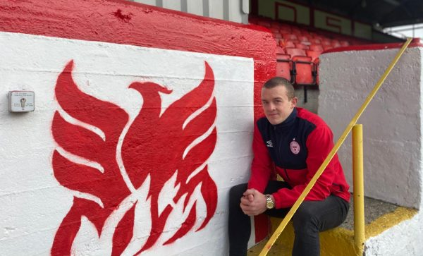 Shels sign striker Michael O'Connor