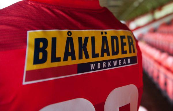 Shels announces Blåkläder as Back of Jersey Sponsor