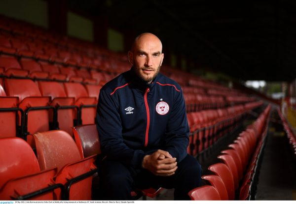 Colm Barron appointed Head of Shelbourne FC Youth Academy