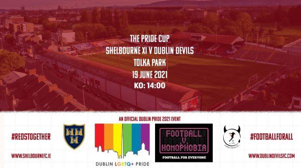 Shels set for Dublin Pride game with Dublin Devils