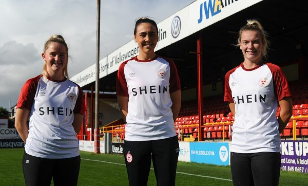 Shelbourne announces SHEIN as new Official Leisurewear and Womenswear partner for WNL team